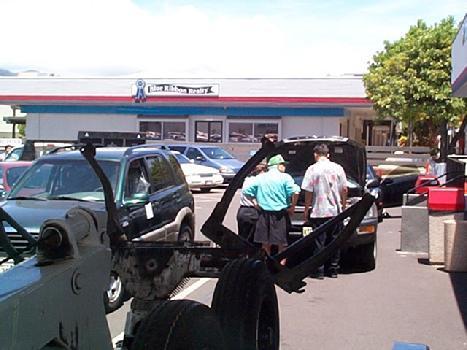 808 282 3965 Honolulu Towing Auto Tow Truck Roadside